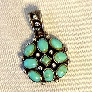 Sterling/Turquoise Pendant